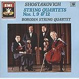 Shostakovich: String Quartets 1, 9 & ,12