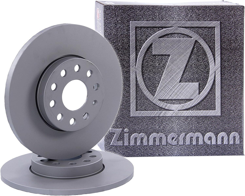 2x ORIGINAL ZIMMERMANN Bremsscheibe Satz Bremsscheiben Voll /Ø272 Hinten