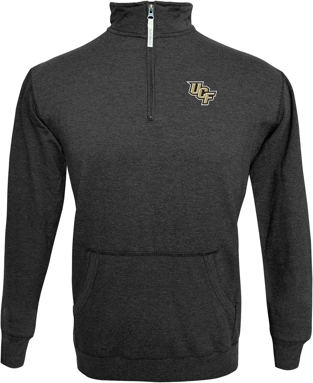Alta Gracia NCAA mens /¼ Zip Fleece Pullover