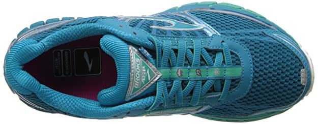 9d14e979c90 Brooks Women s Adrenaline ASR 11 Running Shoes 1201651B397 Caribbean Sea Pool  Green Silver 5 UK