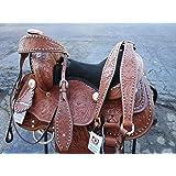 Orlov Hill Leather Co 12 13 PONY WESTERN LEATHER YOUTH SADDLE TACK SET PLEASURE TRAIL BARREL RACING