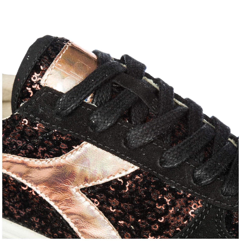 Diadora Heritage Damenschuhe Turnschuhe Damen Leder Leder Leder Schuhe Turnschuhe b. Elite Bla 504097