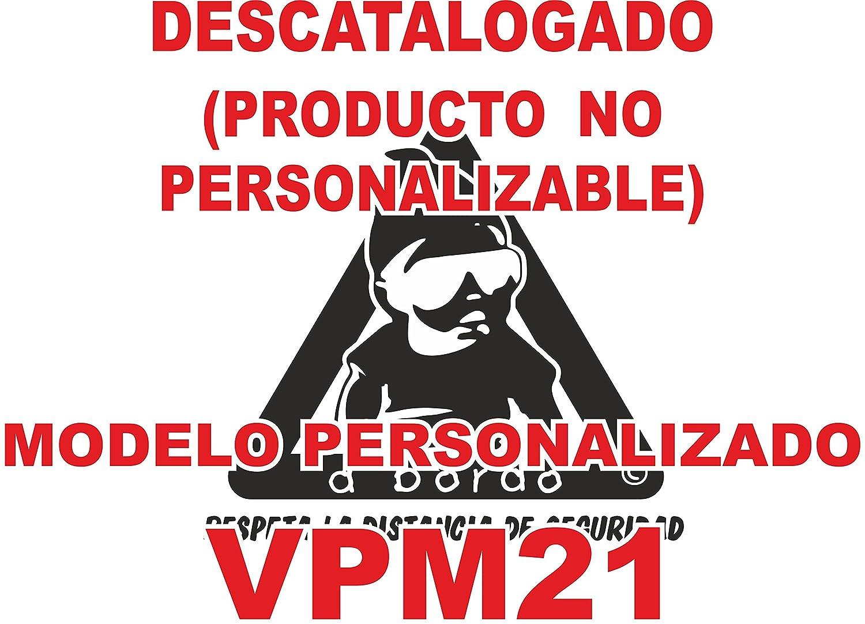 Adhesivo personalizado Bebé a bordo VPC21. DISEÑO EXCLUSIVO. VENDIDO Y ENVIADO POR VPM ORIGINAL. PRODUCTO Y EMPRESA 100% DE ESPAÑA. NO COMPRES IMITACIONES A VENDEDORES CHINOS