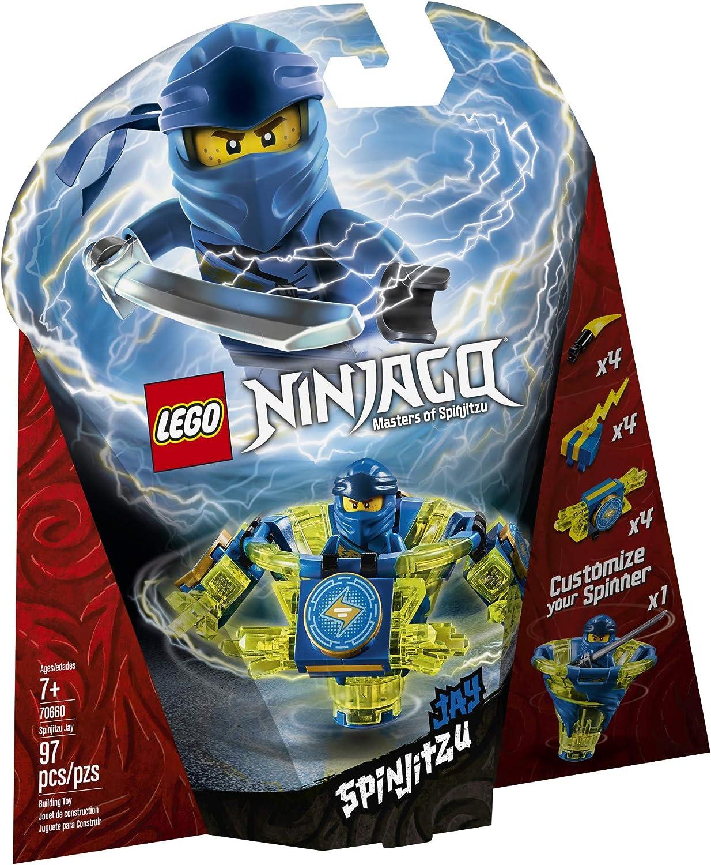 LEGO NINJAGO Spinjitzu Jay 70660 Building Kit (97 Pieces)