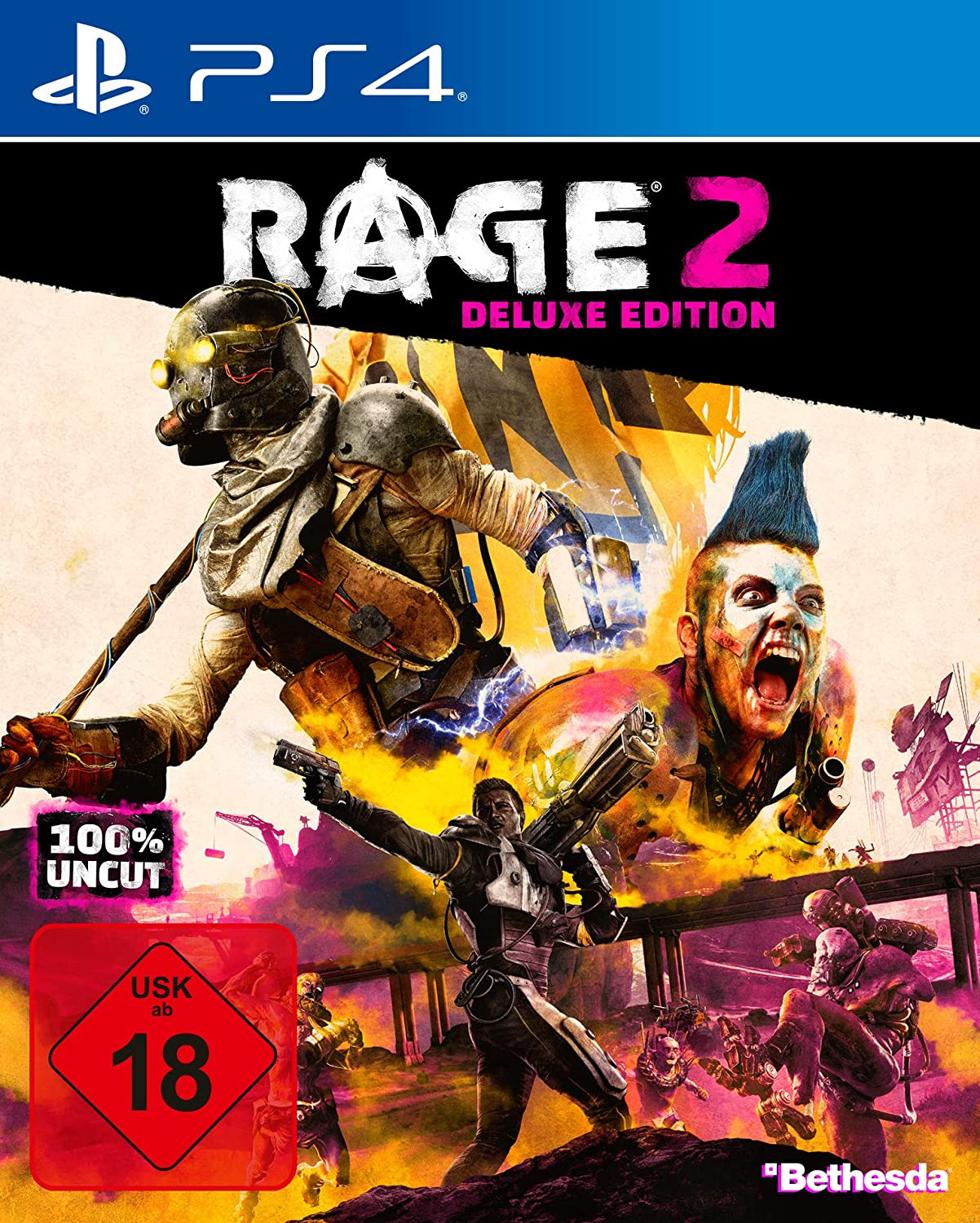 RAGE 2 Deluxe Edition PS4