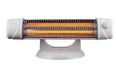 MT Calefactor infrarrojos baño con pie. potencia: 600/1.200 w. interruptor de