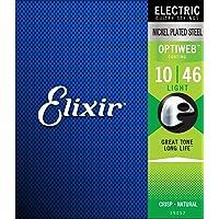 Elixir 19052luz con revestimiento de cuerdas para guitarra eléctrica