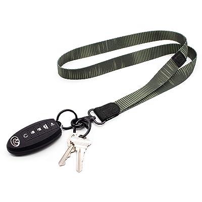Black Lanyard Lanyard for Keys Teacher Lanyard Narrow Lanyard Key Holder Nurse Lanyard Slim Lanyard Office Lanyard