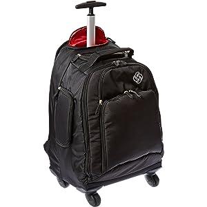 Samsonite MVS Spinner Backpack Black