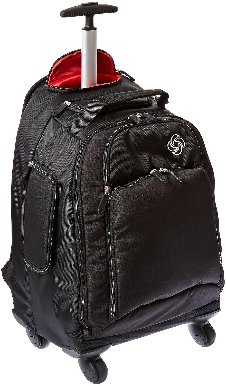 Samsonite Luggage Mvs Spinner Backpack, Black, 19-Inch 46309