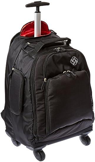 cf1aa7900b09 Amazon.com  Samsonite MVS Spinner Backpack Black  Got Briefcases