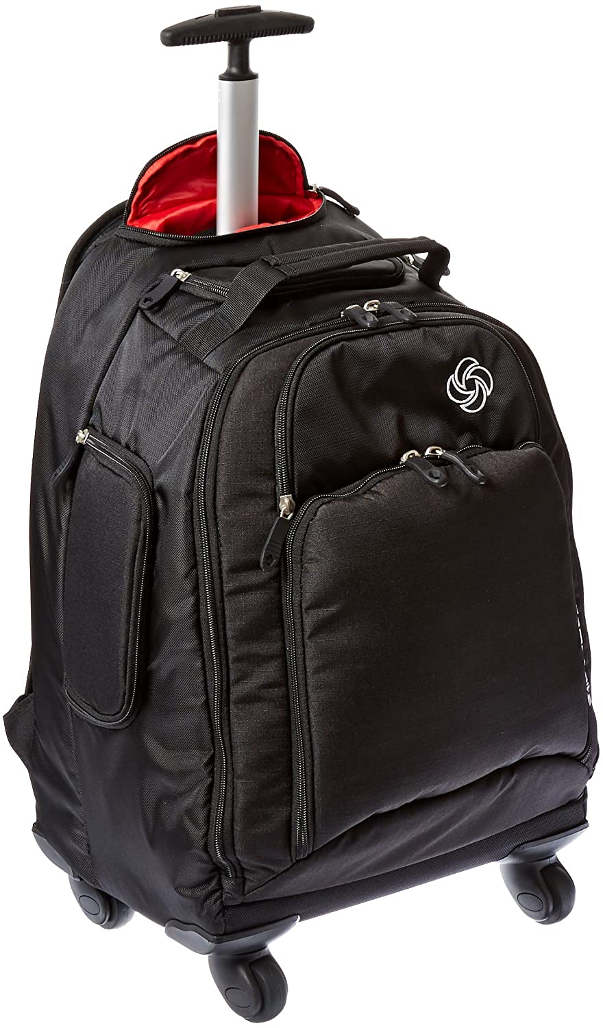 Amazon.com: Samsonite Luggage Mvs Spinner Backpack, Black, 19 Inch ...