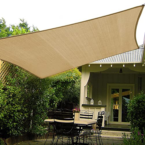 Shade Beyond 10 x10 Sun Shade Sail Canopy UV Block for Patio Deck Yard and Outdoor Activities