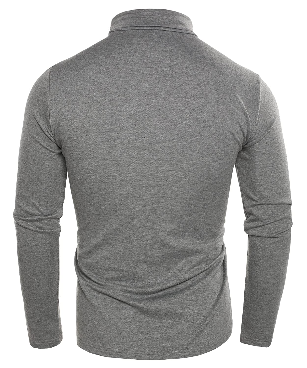 ce0d944d9d7 Coofandy Men s Turtleneck Roll Neck Polo Necks Slim Fit Pullover Sweaters   Amazon.co.uk  Clothing