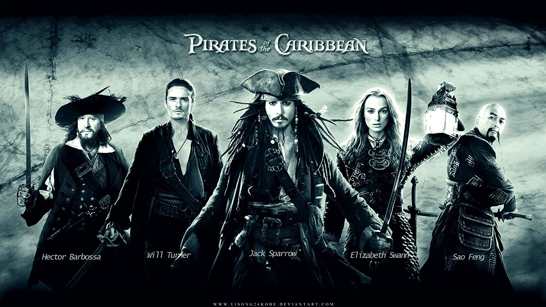 Posterhouzz Movie Pirates Of The Caribbean Pirate Hd Wallpaper
