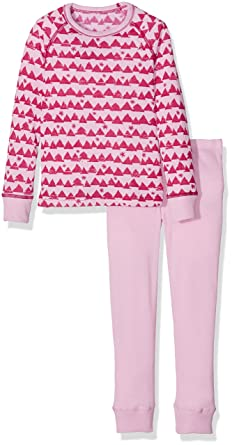 Odlo Kinder Set Warm Kids Shirt LS Pants Long Unterwäsche Lang Ki