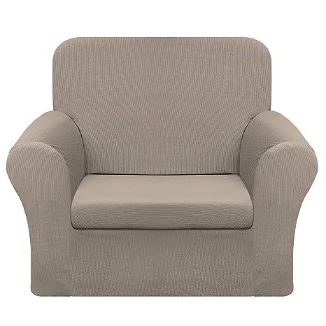 Chelzen Fundas de sofá elásticas, 2 Piezas, Fundas de sofá a ...