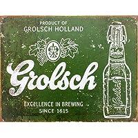 SIGNCHAT Grolsch Beer Excellence - Señal metálica (20