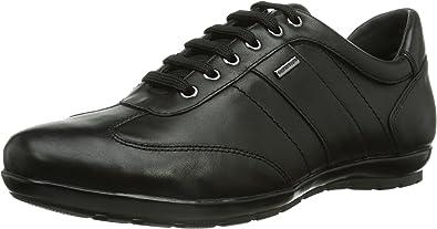 Geox Symbol Schwarz Schnürschuhe Herren Verkauf