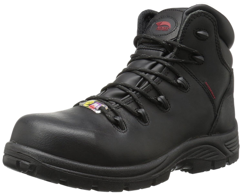 Avenger Safety Footwear メンズ B01LY13TJ0 11 D(M) US|ブラック ブラック 11 D(M) US
