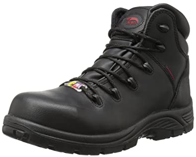 ca74a6cce72 Avenger Safety Footwear Men's Avenger 7223 Waterproof Puncture Resistant  Comp Toe EH Work Boot Industrial and Construction Shoe