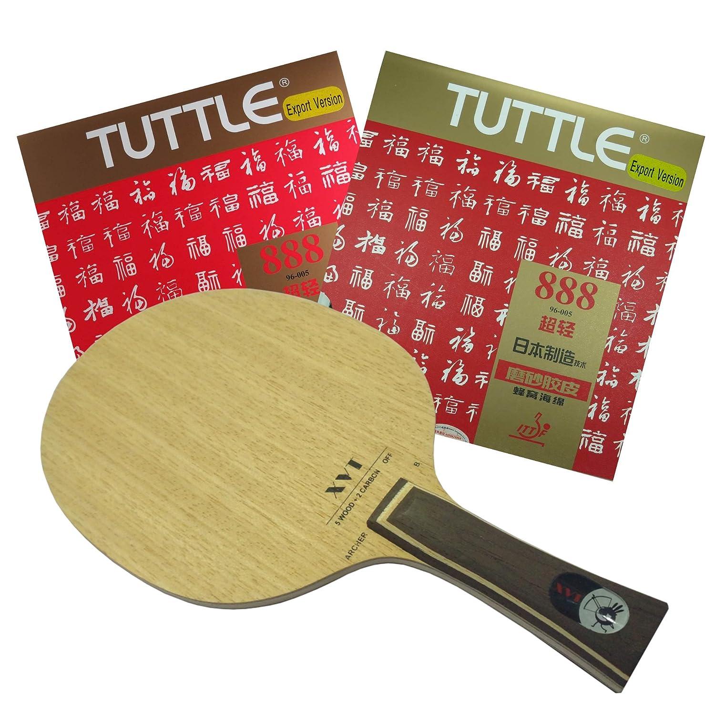 amazon com xvt archer b carbon table tennis blade tuttle 888