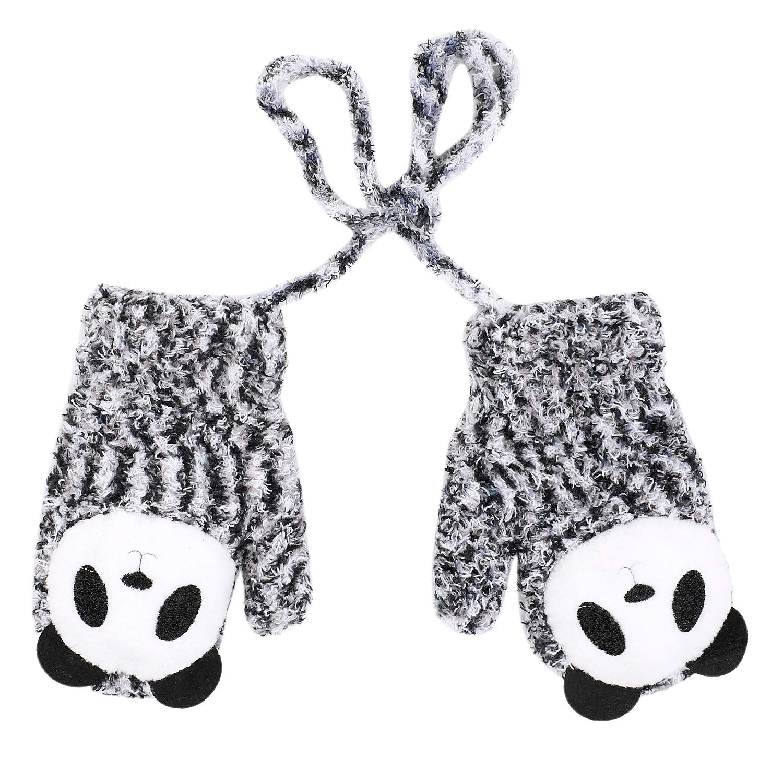 b669ec7975e8 Amazon.com  Toddlers Baby Girl Boys Cute Cartoon Gloves Warm Sound ...
