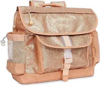 Bixbee Kids Backpack, Sparkalicious Gold, Large