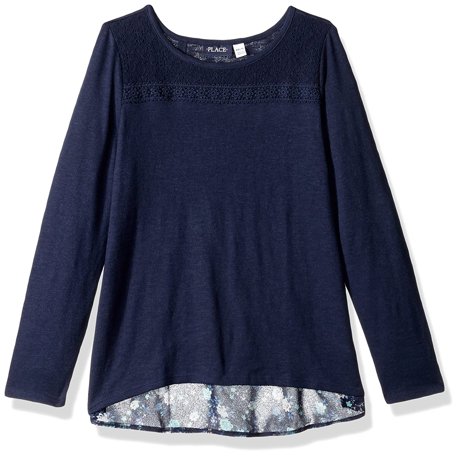 The Children's Place Girls' Long Sleeve Top 2