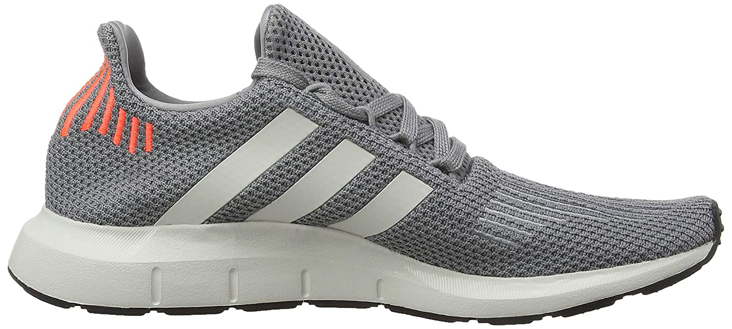 Amazon.com | adidas Mens Swift Run, Grey Three/CORE Black/Grey ONE, 9 M US | Running