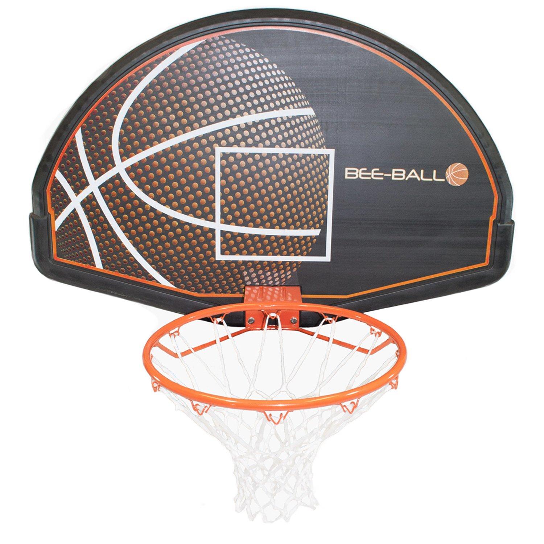 BEE-BALL ZY 020 Panier de Basketball avec Panneau complet /&filet pour usage ext/érieur /&pour adultes et enfants