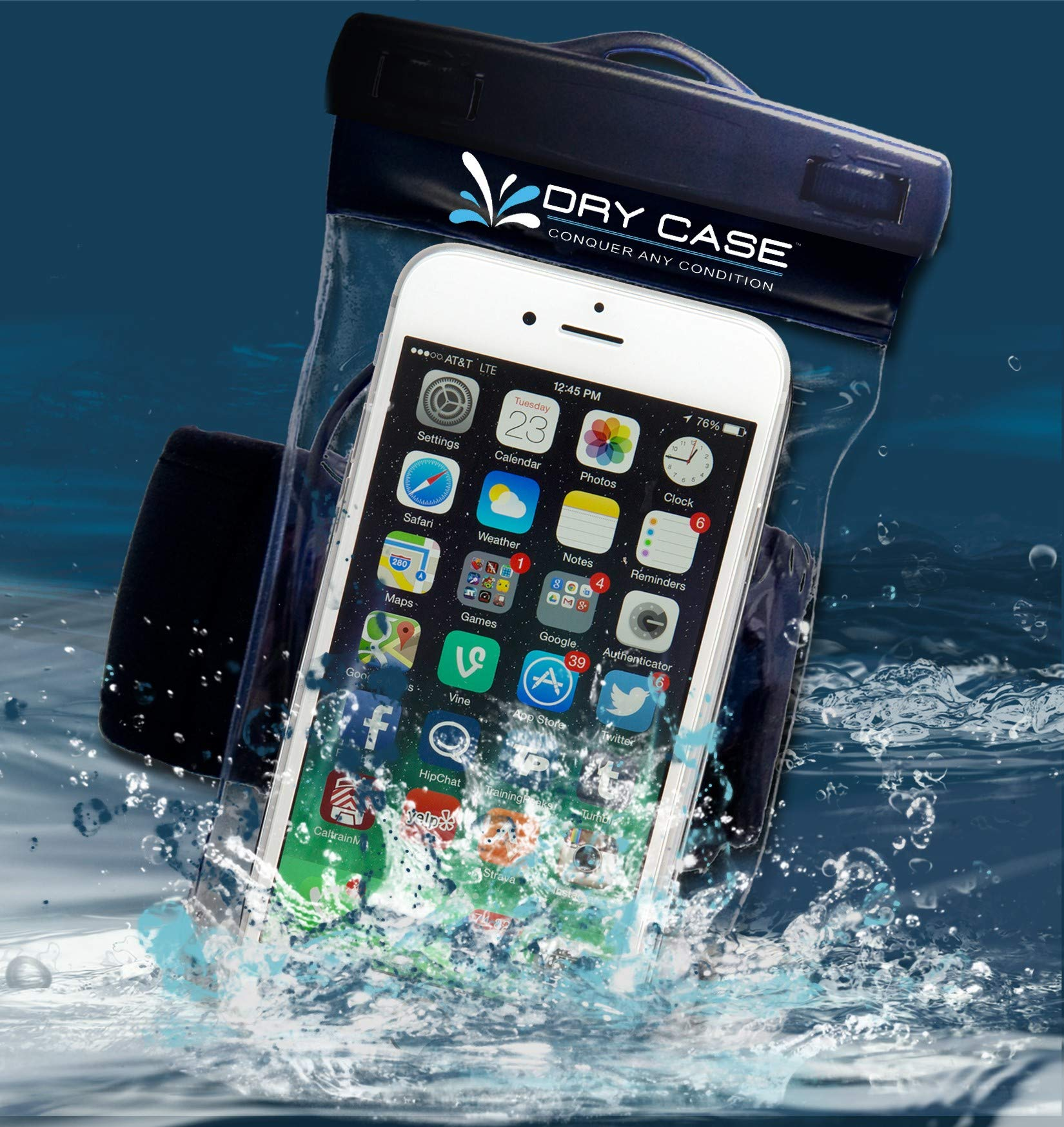 DRYCASE Waterproof Submersible Smartphone Case by Dry CASE
