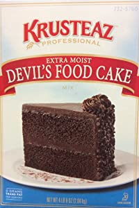 Krusteaz Cake Mix - Plus Devil's Food, 72-Ounce