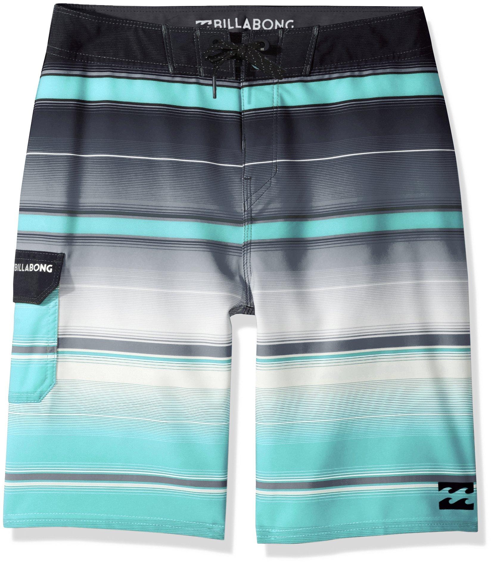 Billabong Boys All Day X Stripe Boardshort, Black, 24