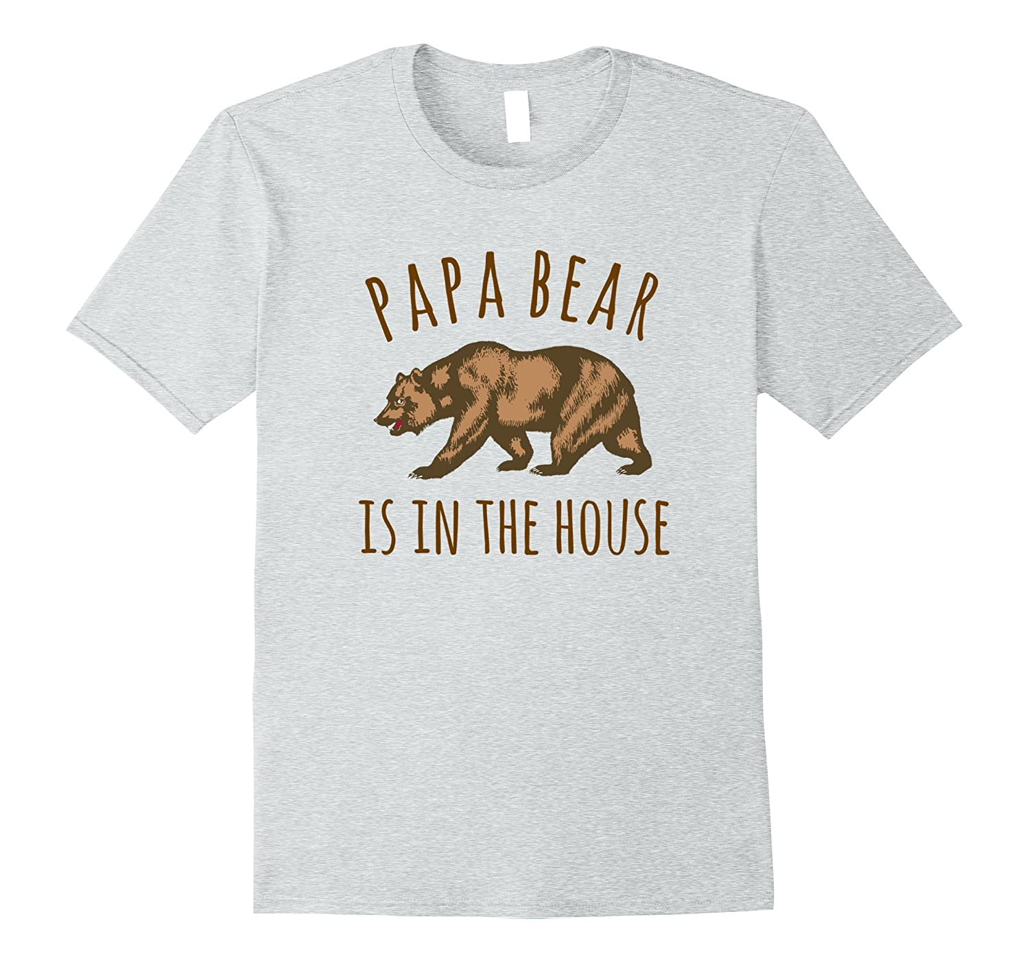 Papa Bear House Father Medium-Teechatpro