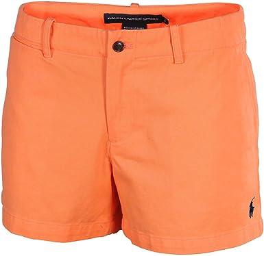 Polo Ralph Lauren Sport Pantalones Cortos Para Mujer Diseno De La Naranja Mecanica 14 Amazon Es Ropa Y Accesorios