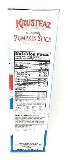 Amazon.com : Krusteaz All Purpose Pumpkin Spice Baking Mix 5 Pound Box : Grocery & Gourmet Food