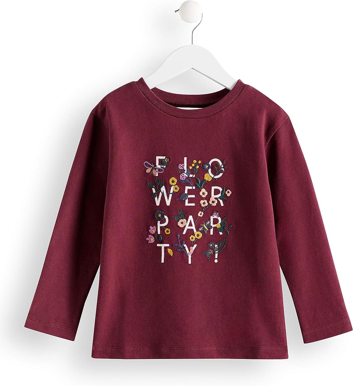 Marke RED WAGON M/ädchen T-Shirt Crew Neck Printed Sweat