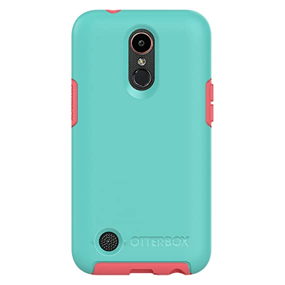 OtterBox SYMMETRY SERIES Case for LG K20V / LG K20 plus / LG Harmony -  Retail Packaging - CANDY SHOP (AQUA MINT/CANDY PINK)