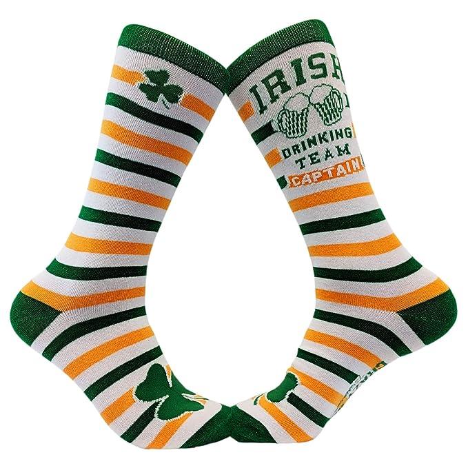 Amazon.com: Calcetines irlandeses para equipo de bebidas ...