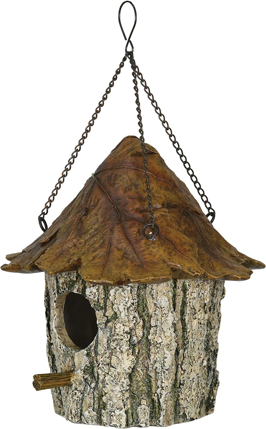 River's Edge Products Birdhouse - Oak Tree/Leaf