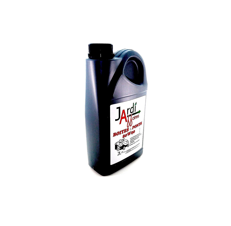 Jardiaffaires Huile Professionnelle pour Transmission 80W90 GL5 2 litres