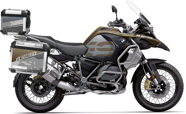Protections adh/ésives pour ALU SUITCASES 2/ème mod/èle R 1250 GS Adventure VA2-R1250GSADV Exclusive Black