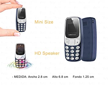 M2 TEC Mini teléfono móvil Bluetooth Marcador con Pantalla ...
