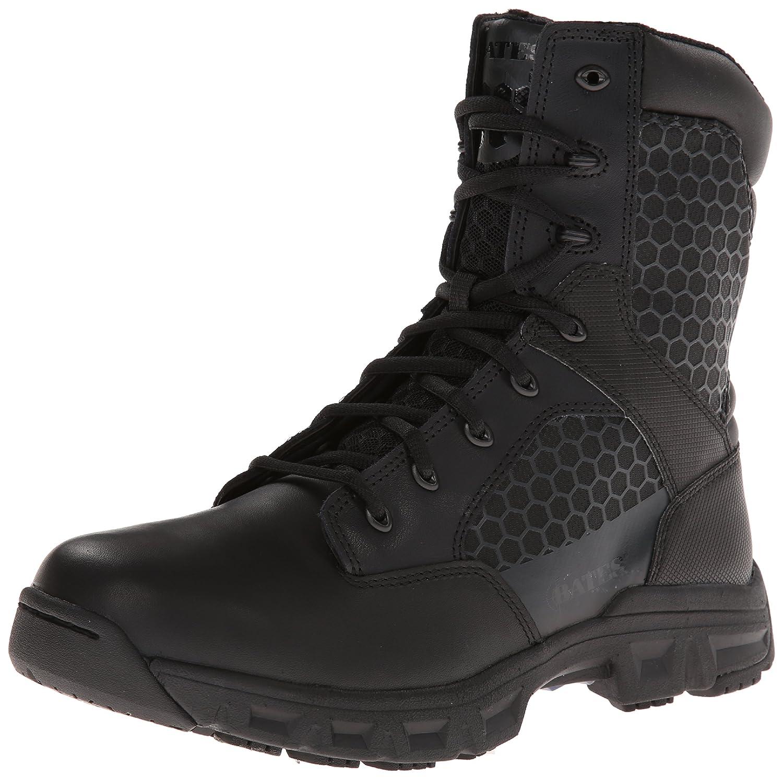 Batesメンズコード6.8インチside-zip軽量Tactical Boot B00I5AQPEM 8 XW US|ブラック ブラック 8 XW US