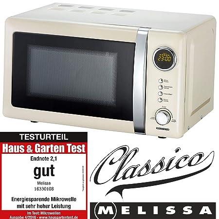 Melissa 16330108 Microondas, Acero Inoxidable: Amazon.es: Grandes ...