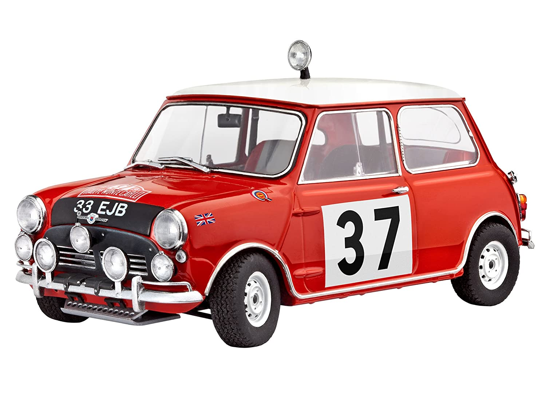 Amazon.com: Mini Cooper Winner Rally Monte Carlo 1964 - 1:24 Scale ...