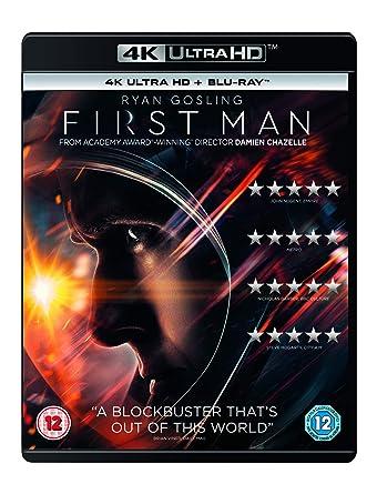 First Man 4K Ultra HD + Blu-ray 2018 Region Free: Amazon co uk: Ryan