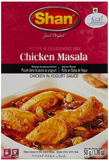 Amazon Shan Chicken Curry Mix 175 Oz Indian Food Grocery