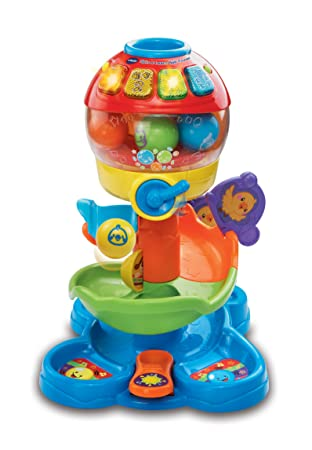 ball tower toy. vtech spin and learn ball tower (discontinued by manufacturer) toy